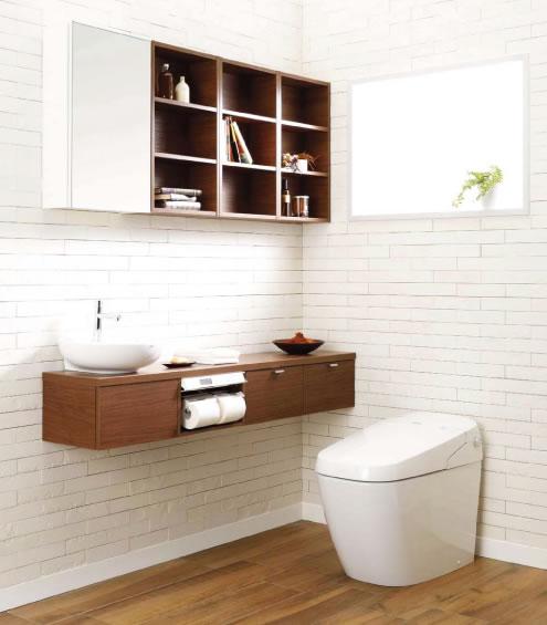 タンクレスシャワートイレ SATIS